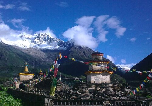 Manaslu with Tsum Valley Trek