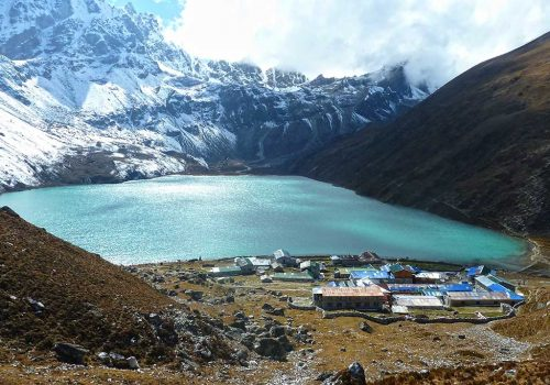 Gokyo Lakes with Chola Pass and Everest Base Camp