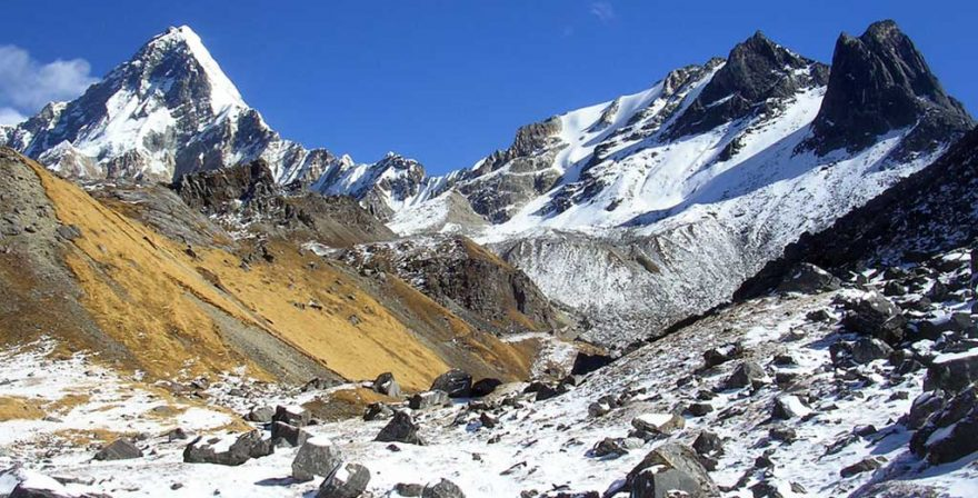 The trail which is very adventures and filled with excitement with beauty of the mountains on himalayan summit Khayer Lake 13 days trek package.